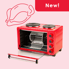 Electric oven, self-cleansing, 30L, MO3030/RD