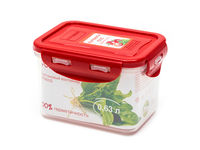 Plastic sealed container, BPA-fre CP0603S/RD