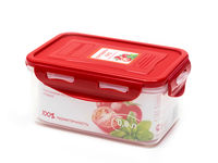 Plastic sealed container, BPA-free CP0803S/RD