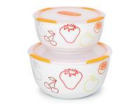 2 set ceramic bowls, BS4781RC/OR, Orange